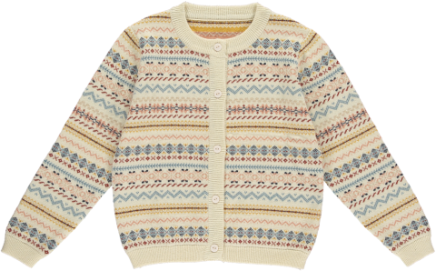 HAPPYOLOGY Bert Cardigan, Fair Isle Sunrise