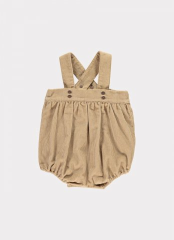 <img class='new_mark_img1' src='https://img.shop-pro.jp/img/new/icons5.gif' style='border:none;display:inline;margin:0px;padding:0px;width:auto;' />HAPPYOLOGY Addison Baby Dungaree Shorts 3~12M