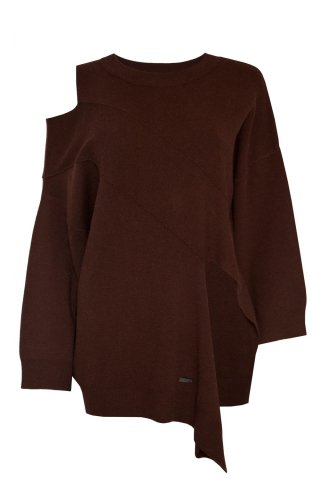 JOVONNA SCOTIA JUMPER-BROWN