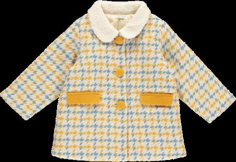 HAPPYOLOGY Aubree Baby Coat, Lollipop