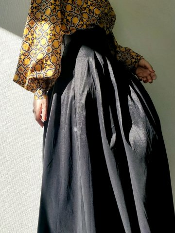<img class='new_mark_img1' src='https://img.shop-pro.jp/img/new/icons22.gif' style='border:none;display:inline;margin:0px;padding:0px;width:auto;' />【20%OFF】sister jane Quarters Maxi Skirt with Belt