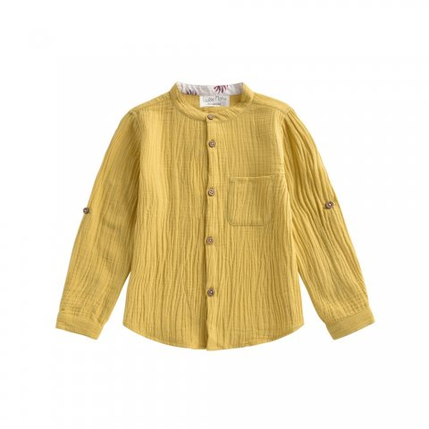 Louise Misha Kids Amod Shirt, Honey