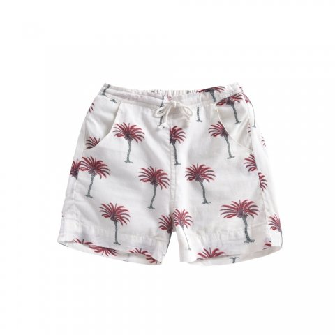 Louise Misha Kids Anandi Shorts, White Tropical