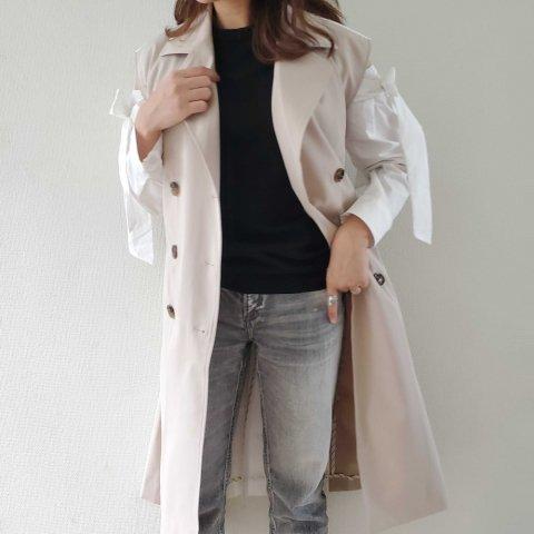 JOVONNA Delfi Vest-BEIGE