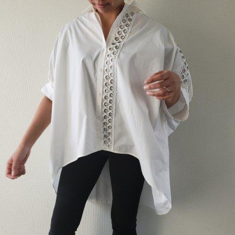 JOVONNA Lanis shirt-WHITE