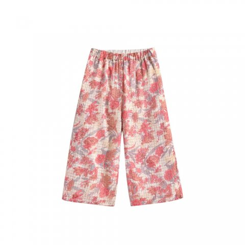 Louise Misha Flor Pants, Pink Flowers