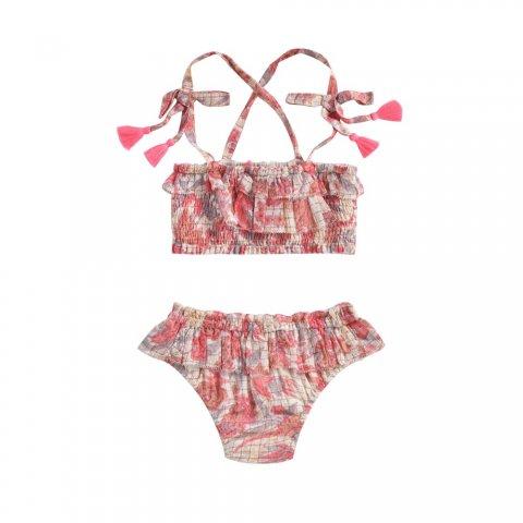 Louise Misha Mapimi Bikini, Pink Flowers