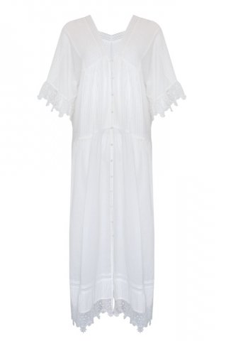 JOVONNA Paycen dress-WHITE
