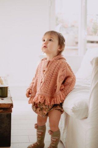 【ニットポンチョ】Louise Misha Baby Lili Mantle, Sienna