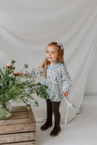 <img class='new_mark_img1' src='https://img.shop-pro.jp/img/new/icons5.gif' style='border:none;display:inline;margin:0px;padding:0px;width:auto;' />HAPPYOLOGY  Betty Baby Romper, Wild Bluebell