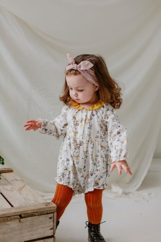 <img class='new_mark_img1' src='https://img.shop-pro.jp/img/new/icons5.gif' style='border:none;display:inline;margin:0px;padding:0px;width:auto;' />HAPPYOLOGY  Betty Baby Romper, Modern Floral