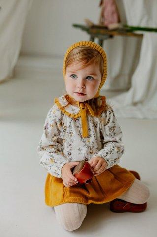 【ブラウス】HAPPYOLOGY Baby Tilbury Blouse, Modern Florals
