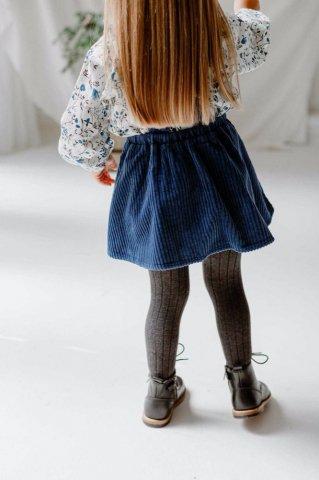 【スカート】HAPPYOLOGY Orla Pinafore Skirt, Indigo