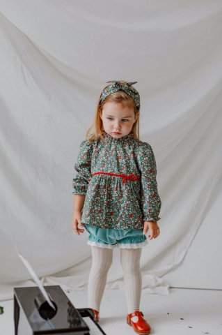【ブラウス】HAPPYOLOGY Kids Cinder Blouse, Chelsea Garden