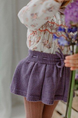 【ボトムス】HAPPYOLOGY Roseleigh Knitted Skort, Purple Twilight