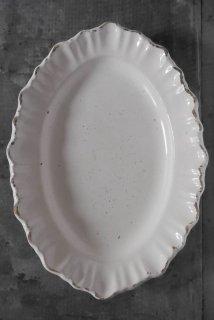 Ovalshape plate