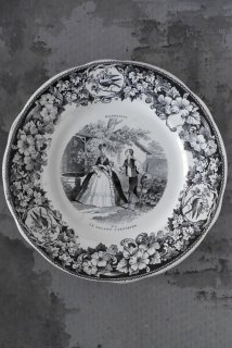Grisaille plate (No9)