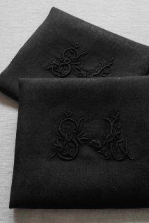 Serviette noir(SL)