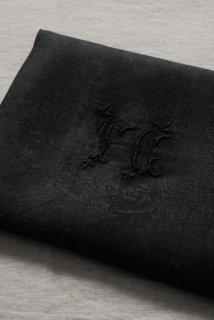 Serviette noir(TC)