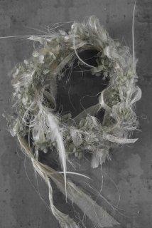 Guirlande(plumes gris)