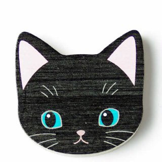 マグネット黒猫