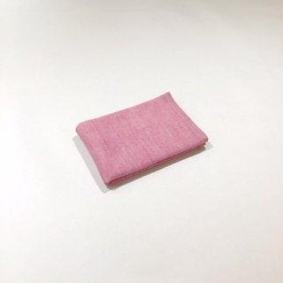 2トーンシャンブレー ゲストタオル(ピンク1)