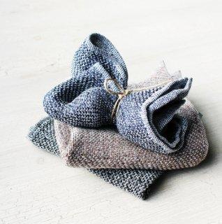 ハンカチコレクション Linen Tweed