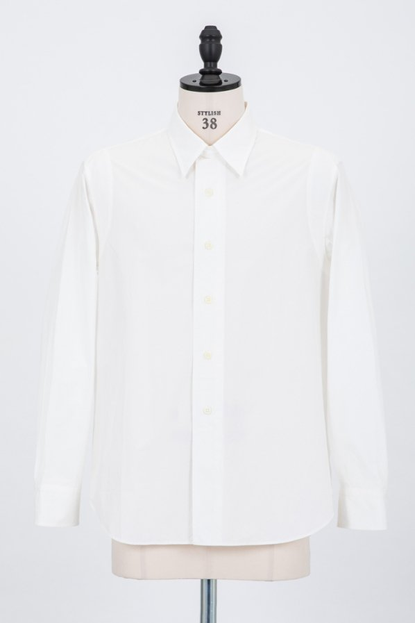 COTTON TYPEWRITER WORK SHIRT