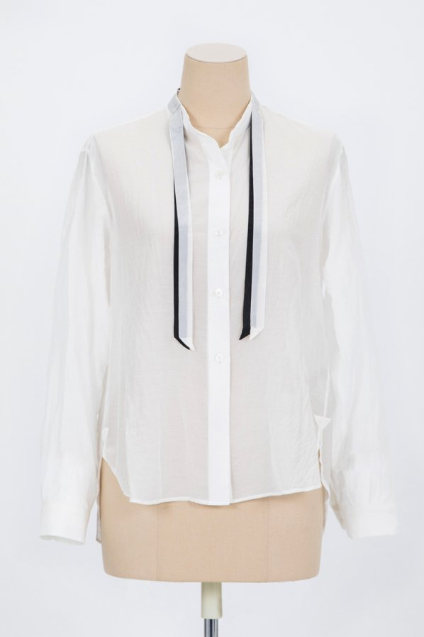 SILK COTTON LAWN SHIRT