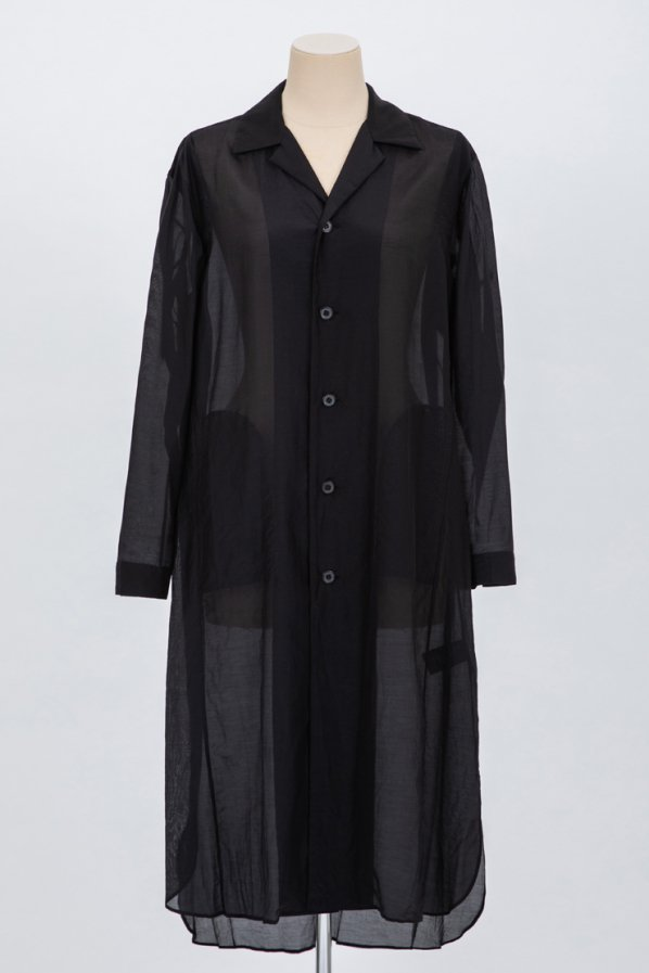 SILK COTTON LAWN LONG SHIRT