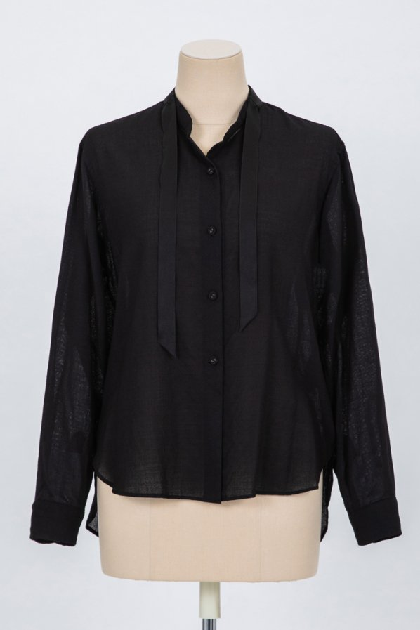 WOOL VOILE SHIRT