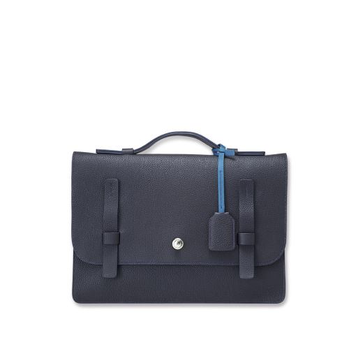 T Briefcase(M)<br>German Shrunken Calf×Soft Calf