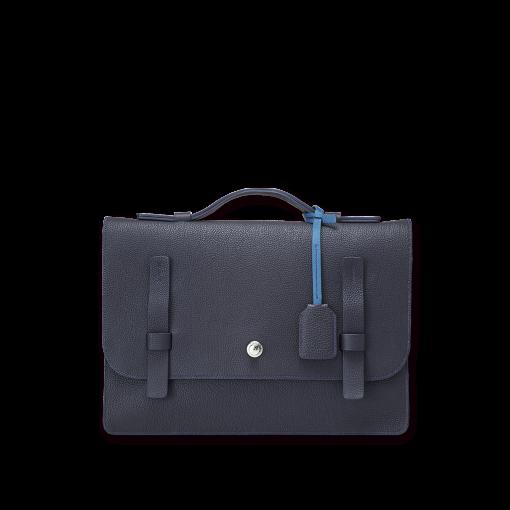 T Briefcase(M)<br>German Shrunken Calf×Soft Calf