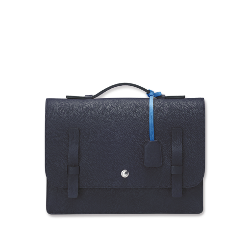 T Briefcase(L)<br>German Shrunken Calf×Soft Calf