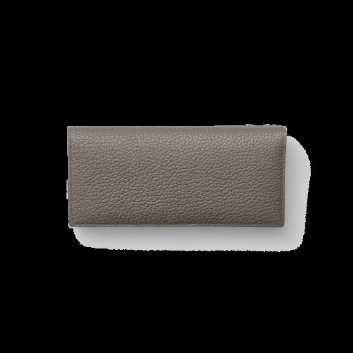 TT2 Wallet<br>German Shrunken Calf×Lamb<br>Titanium×Orange