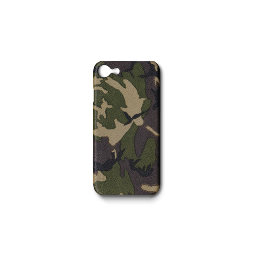 iPhone 7, 8 & SE Case<br>Camouflage Goat<br>Dark Natural
