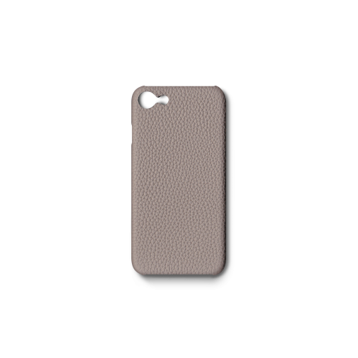 iPhone 7, 8 & SE Case<br>German Shrunken Calf<br>Platinum