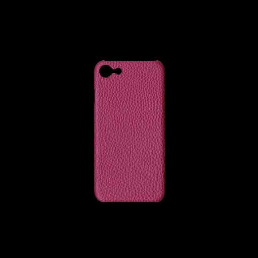iPhone 7, 8 & SE Case<br>German Shrunken Calf<br>Indian Pink
