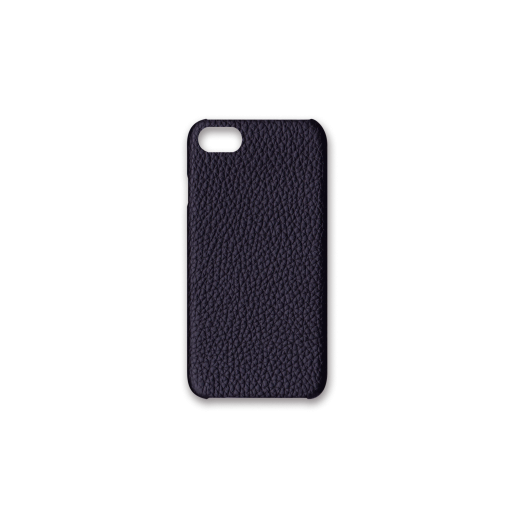iPhone 7, 8 & SE Case<br>German Shrunken Calf<br>Midnight Blue