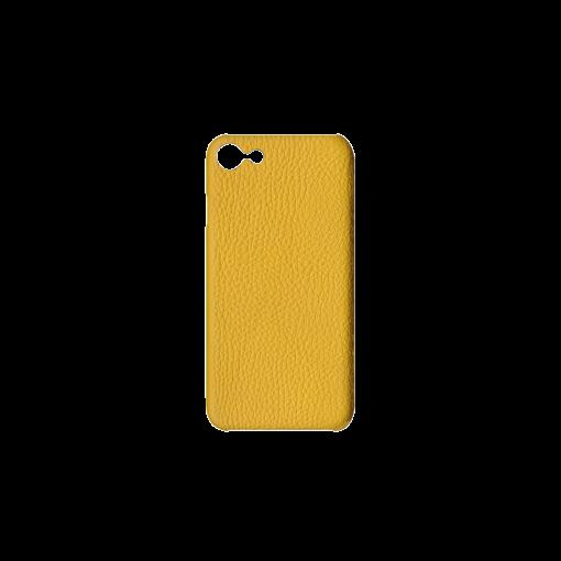 iPhone 7, 8 & SE Case<br>German Shrunken Calf<br>Yellow