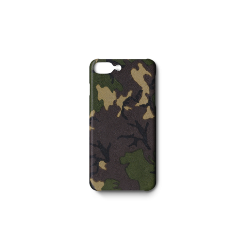 iPhone 7Plus&8Plus Case<br>Camouflage Goat<br>Dark Natural