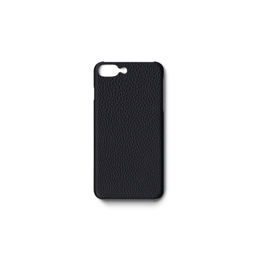 iPhone 7Plus&8Plus Case<br>German Shrunken Calf<br>Black