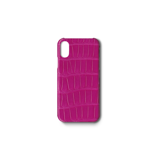 iPhone X&XS Case<br>Mississippi Alligator<br>Glossy Pink