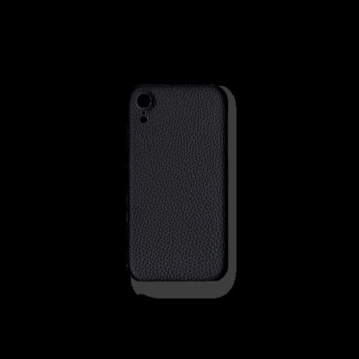 iPhone XR Case<br>German Shrunken Calf<br>Black