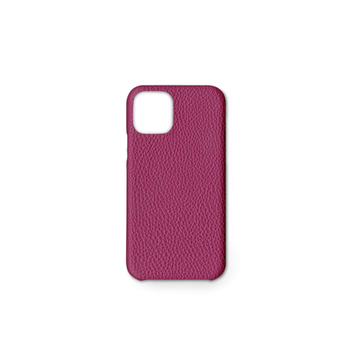 iPhone 11 Pro Carbon Case<br>German Shrunken Calf<br>Indian Pink