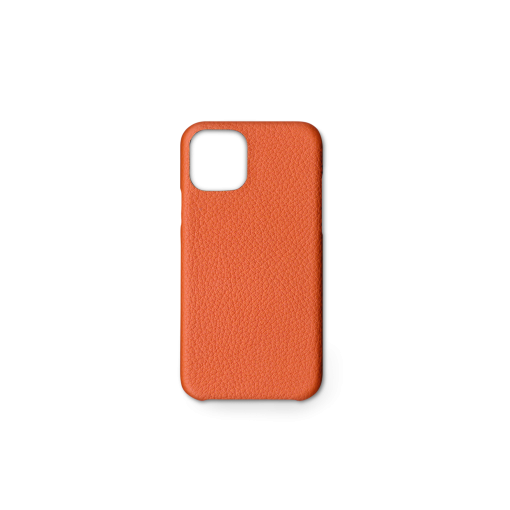 iPhone 11 Pro Case<br>French Crisp Calf<br>Orange
