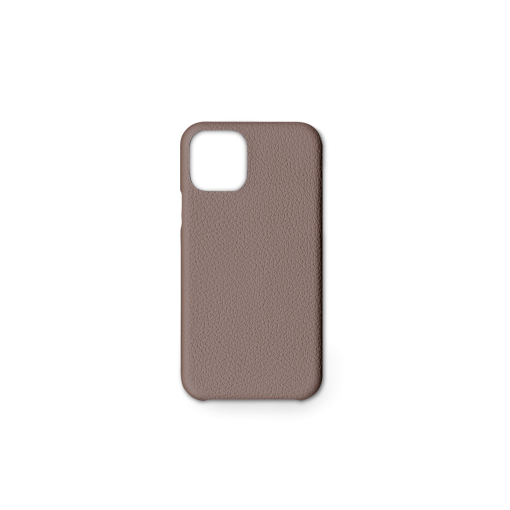 iPhone 11 Pro Carbon Case<br>German Shrunken Calf<br>Tortora