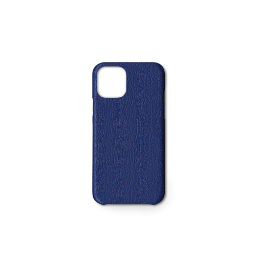 iPhone 11 Pro Carbon Case<br>French Goat<br>Sapphire Blue