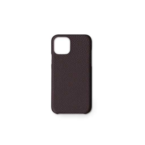 iPhone 11 Pro Carbon Case<br>German Shrunken Calf<br>Chocolate