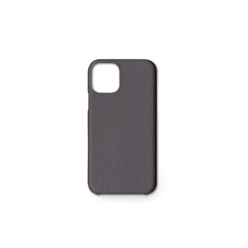 iPhone 11 Pro Carbon Case<br>German Shrunken Calf<br>Titanium